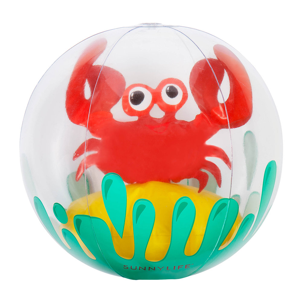 Sunnylife  Childrens Inflatable 3D Crabby Ball