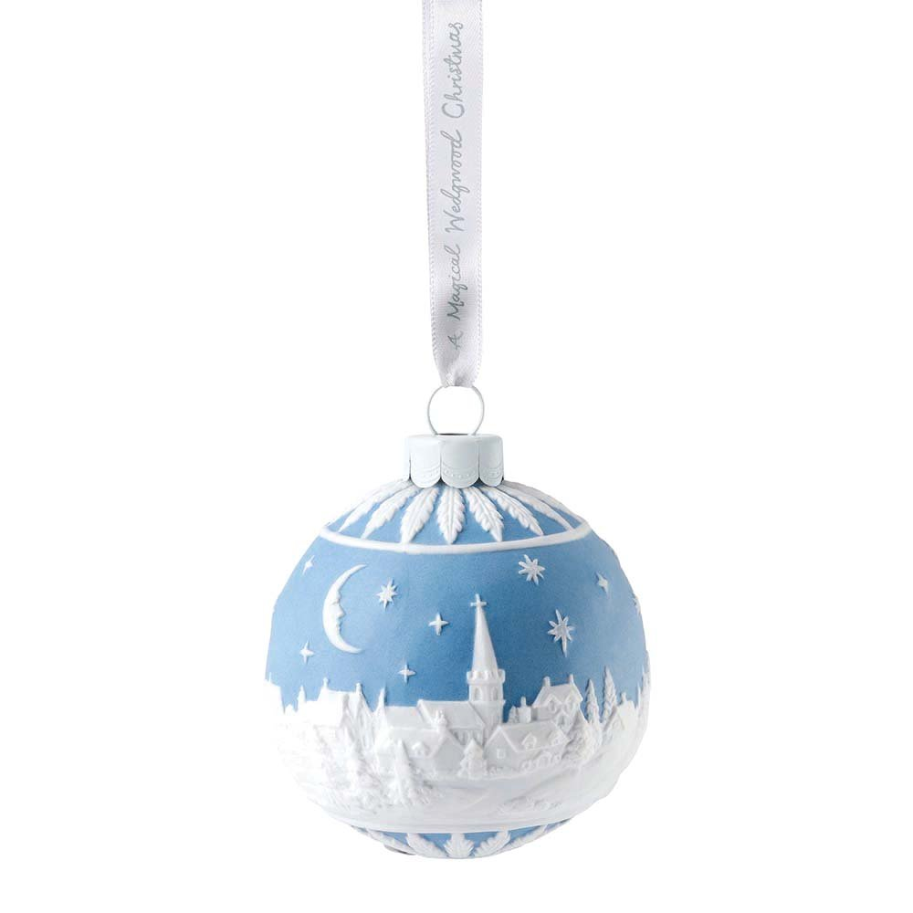Wedgwood - Christmas Sky at Night Bauble