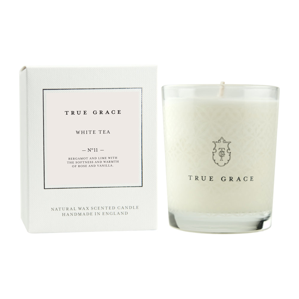True Grace White Tea candle