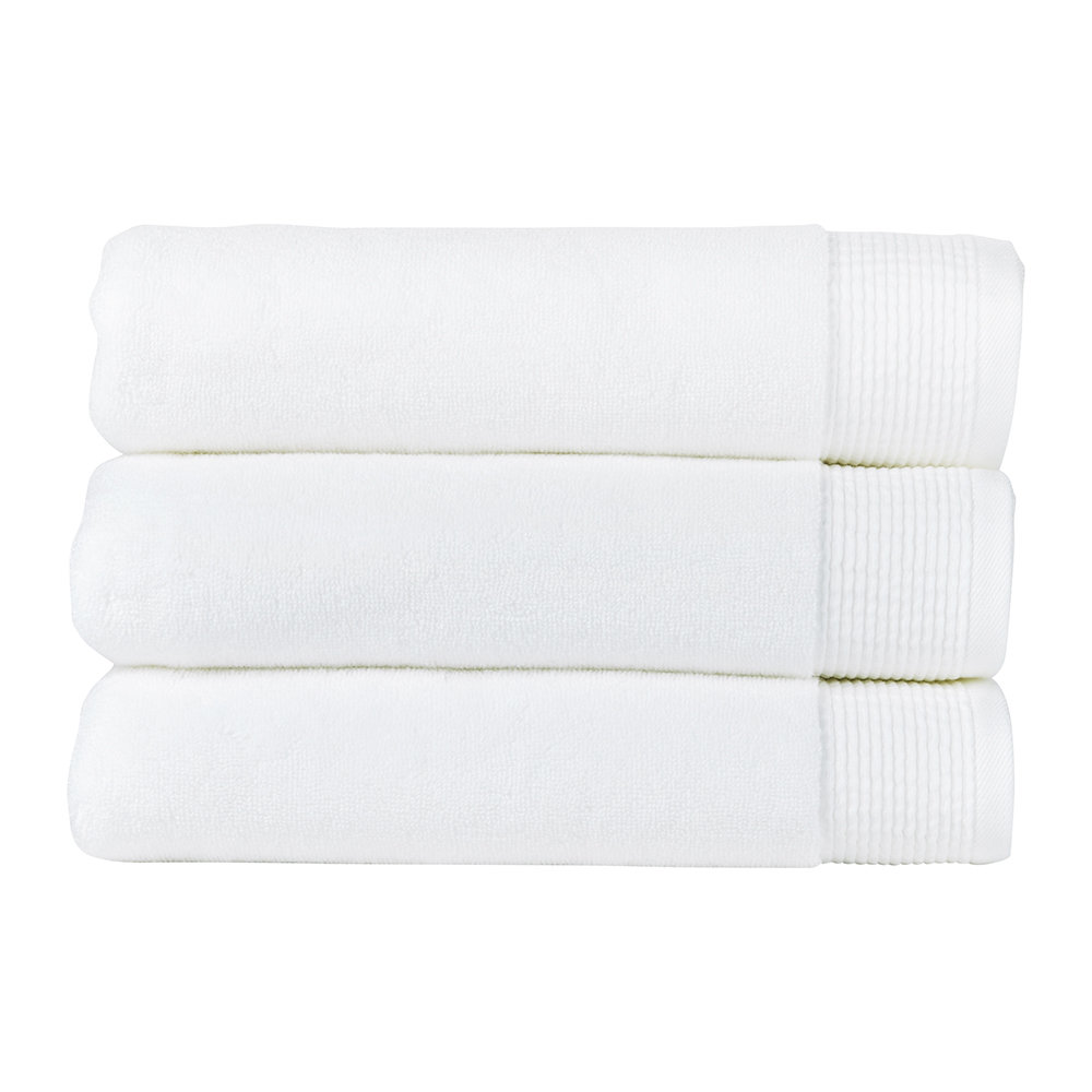 Photo of Christy - Blossom Towel - White - Guest Towel - shop Christy Linens, Towels, Bath Towels & Washcloths online