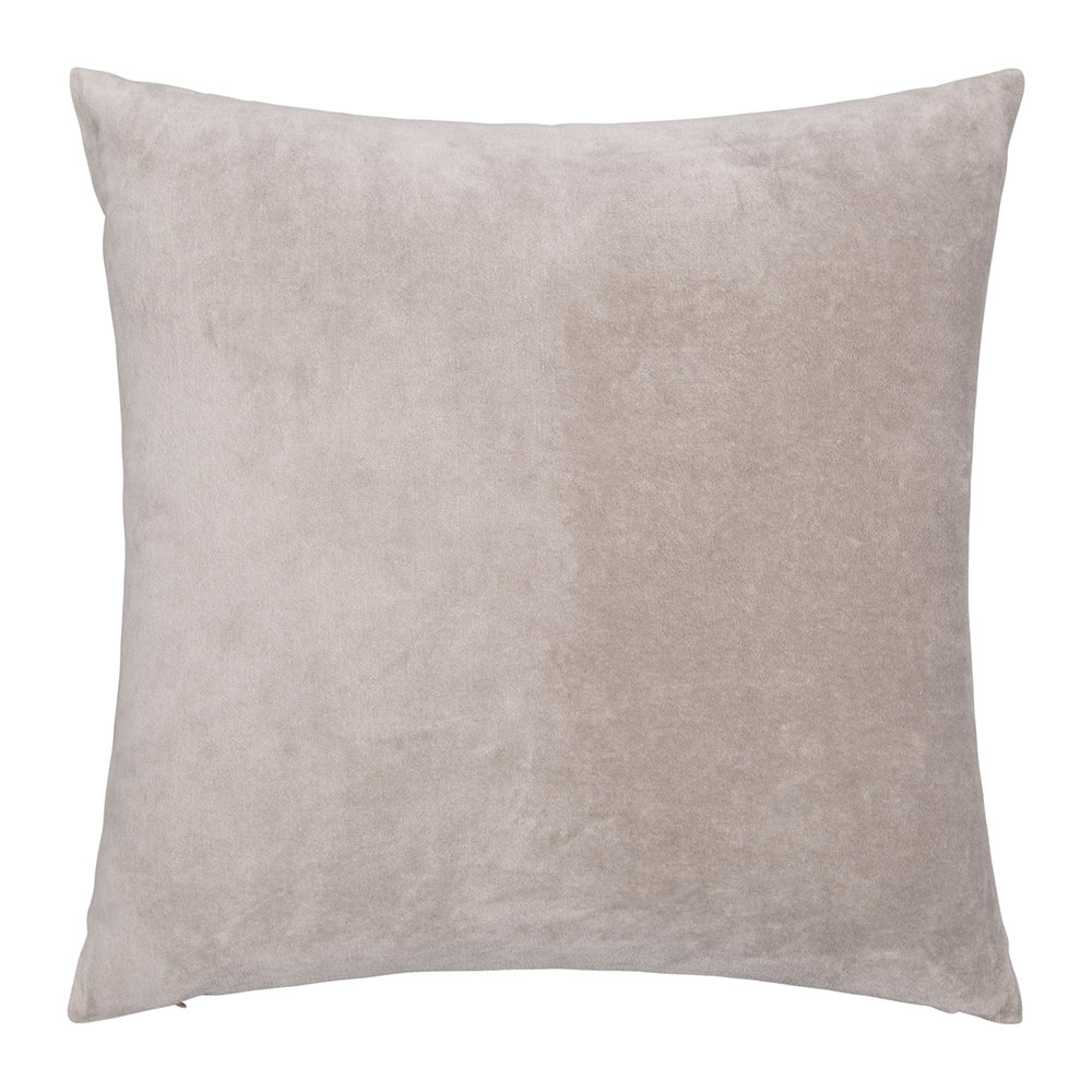 Niki Jones  Velvet Linen Pillow  Oyster  50x50cm