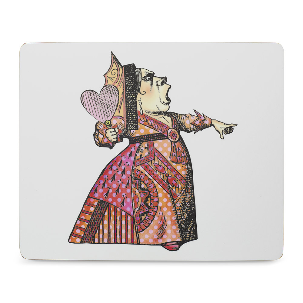 Mrs Moore's Vintage Store - Alice In Wonderland Placemat - Red Queen