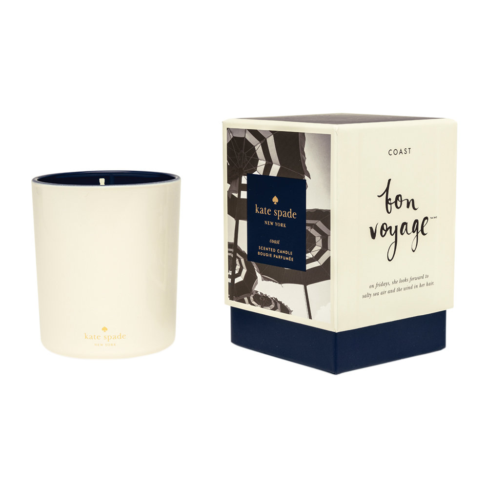 kate spade new york - Bon Voyage Scented Candle - 280g - Coast