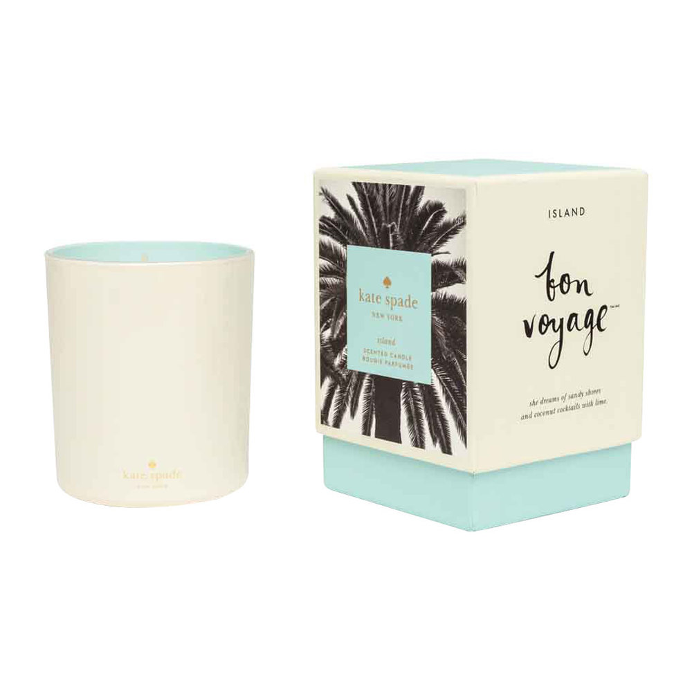kate spade new york - Bon Voyage Scented Candle - 280g - Island