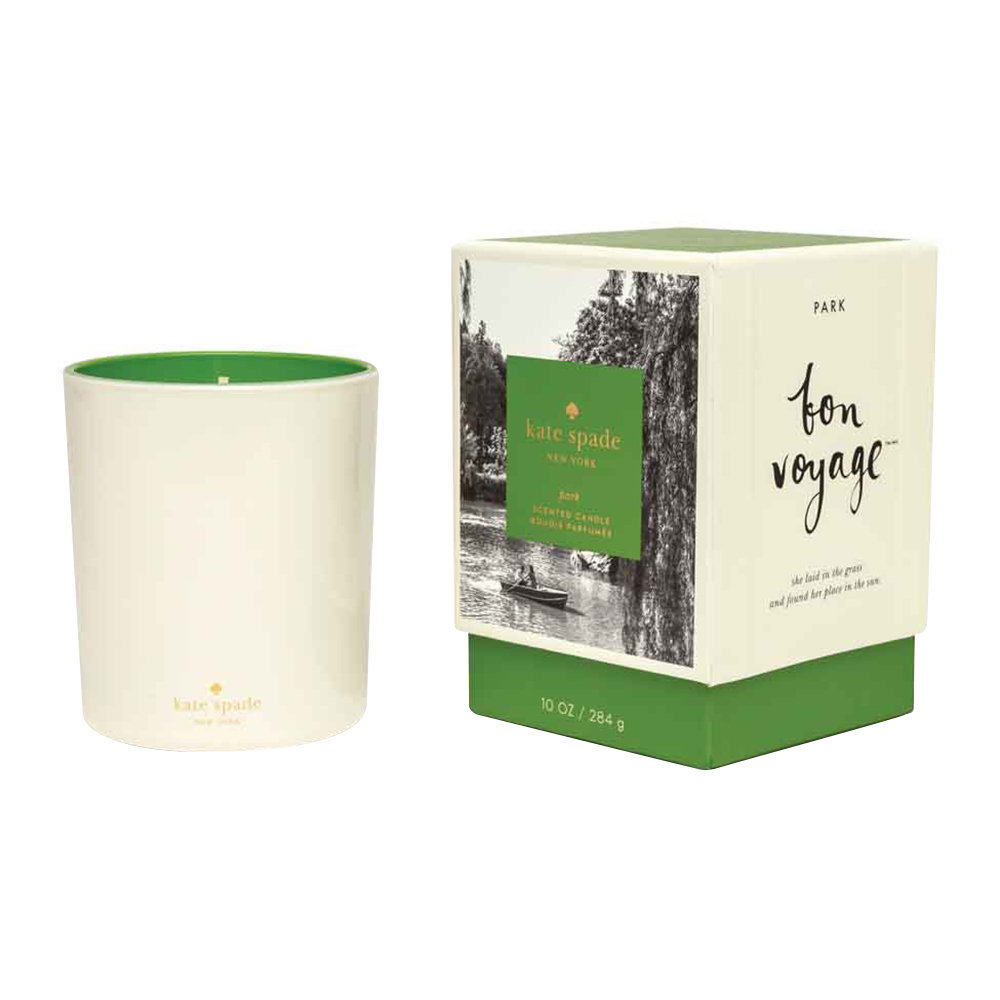 kate spade new york - Bon Voyage Scented Candle - 280g - Park