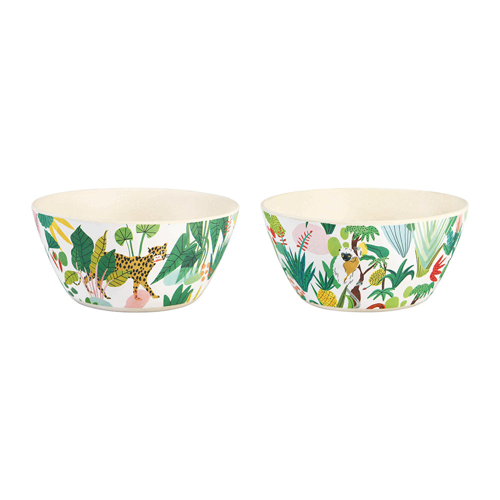 Klevering - Bodil Bamboo Bowls - Set of 2