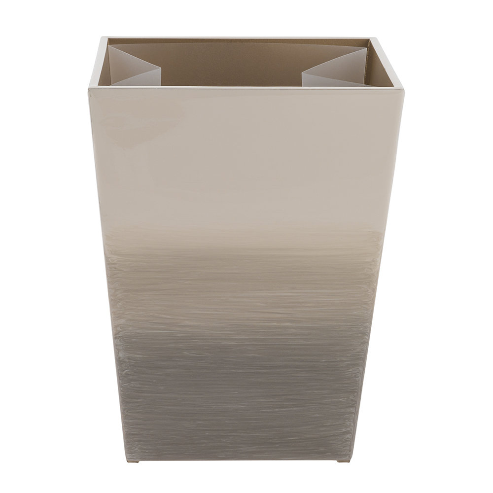 Mike + Ally - Ombre Waste Bin - Natural/Gold