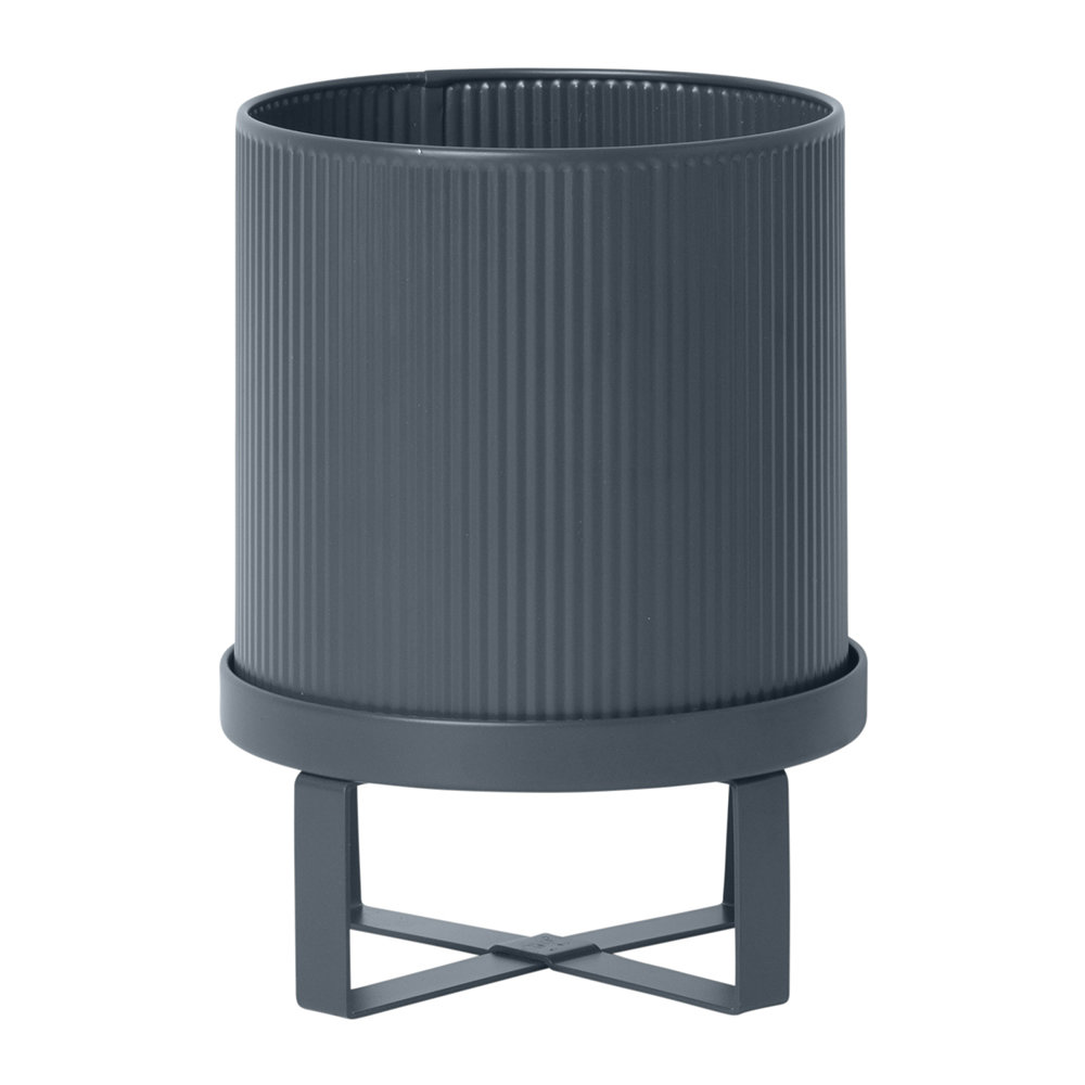 Ferm Living - Bau Plant Pot - Dark Blue - Small