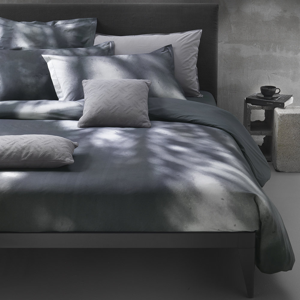 Diesel Living - Flora Shadow Bed Set - Blue - Double