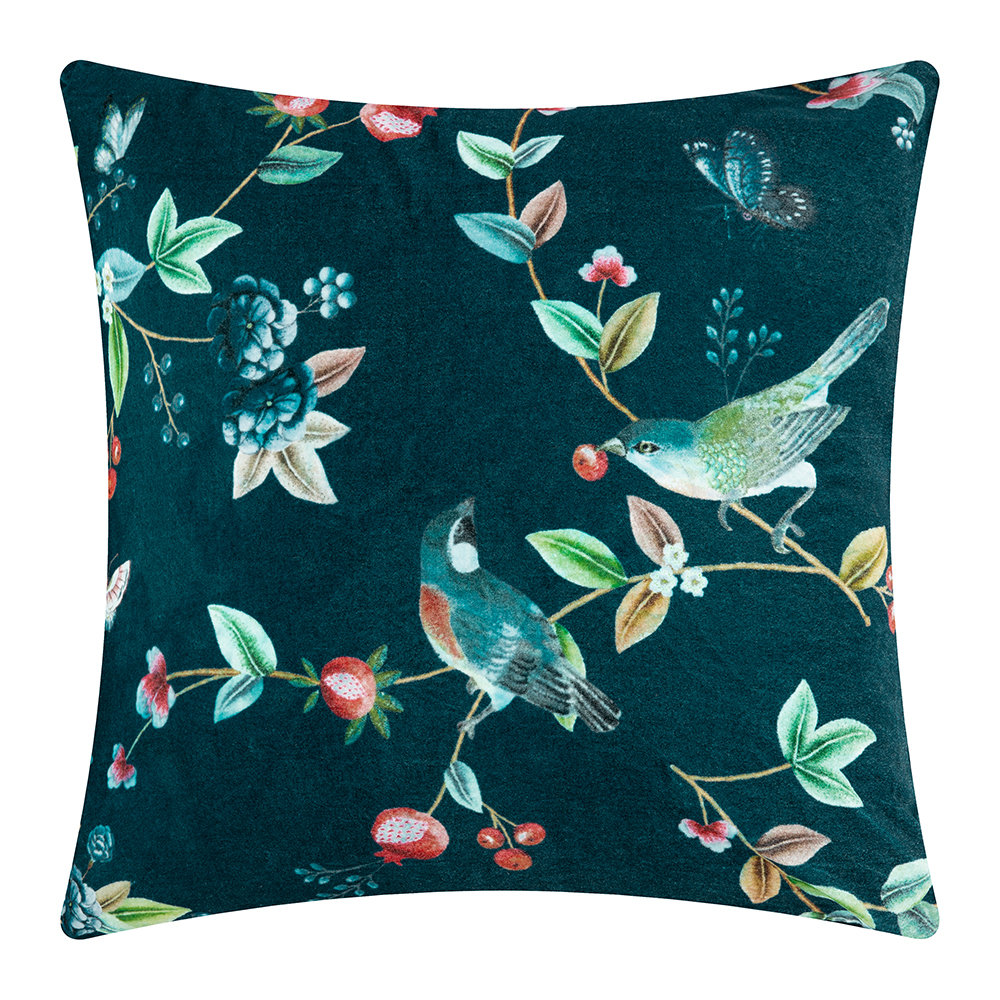 Pip Studio - Birdy Cushion - 60x60cm - Blue