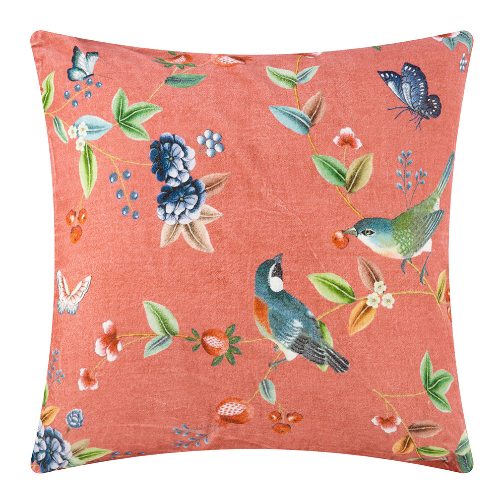 Pip Studio - Birdy Cushion - 60x60cm - Pink