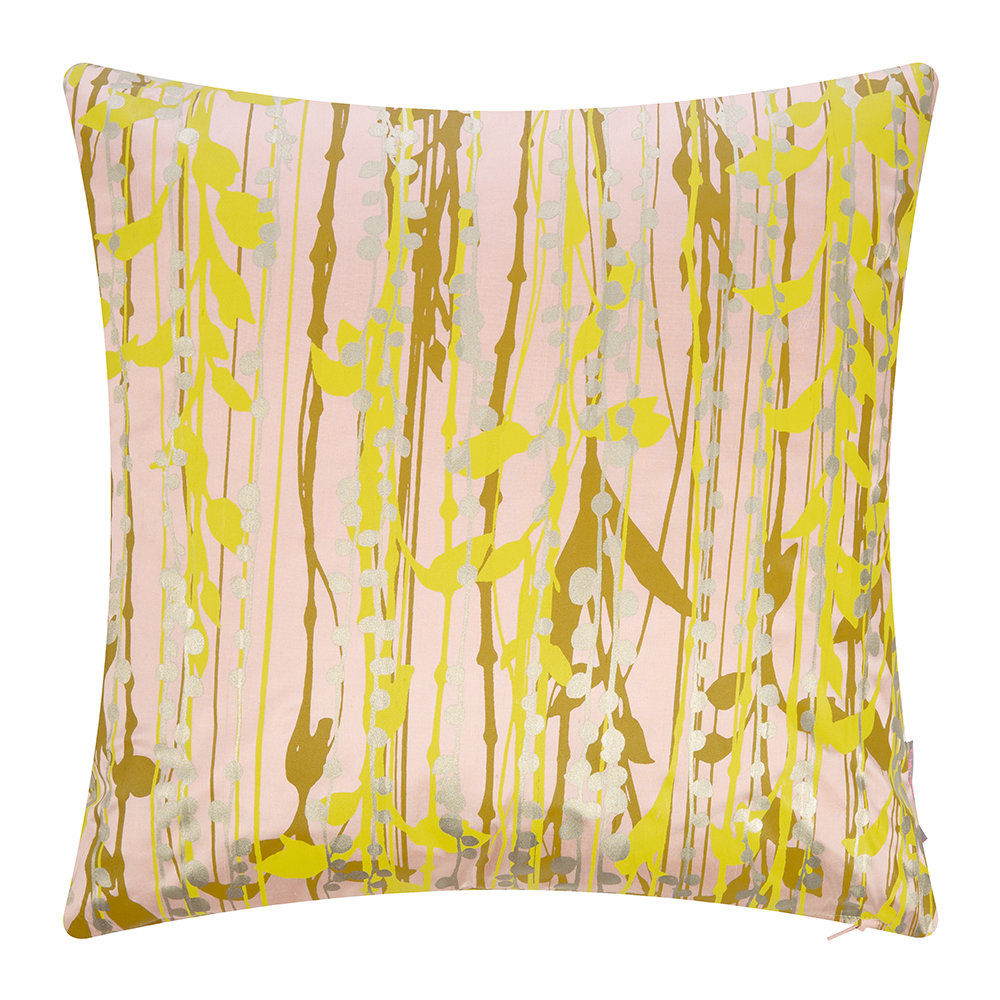 Clarissa Hulse - St Lucia Cushion - 45x45cm - Oyster/Ochre/Quince/Gold