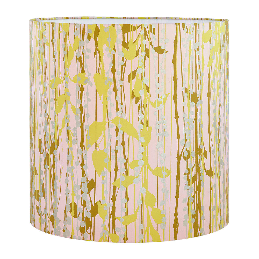 Clarissa Hulse - St Lucia Lamp Shade - Oyster/Ocher/Soft Gold - Large
