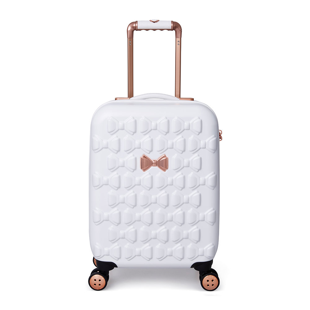 Ted Baker Beau Suitcase – White – Small