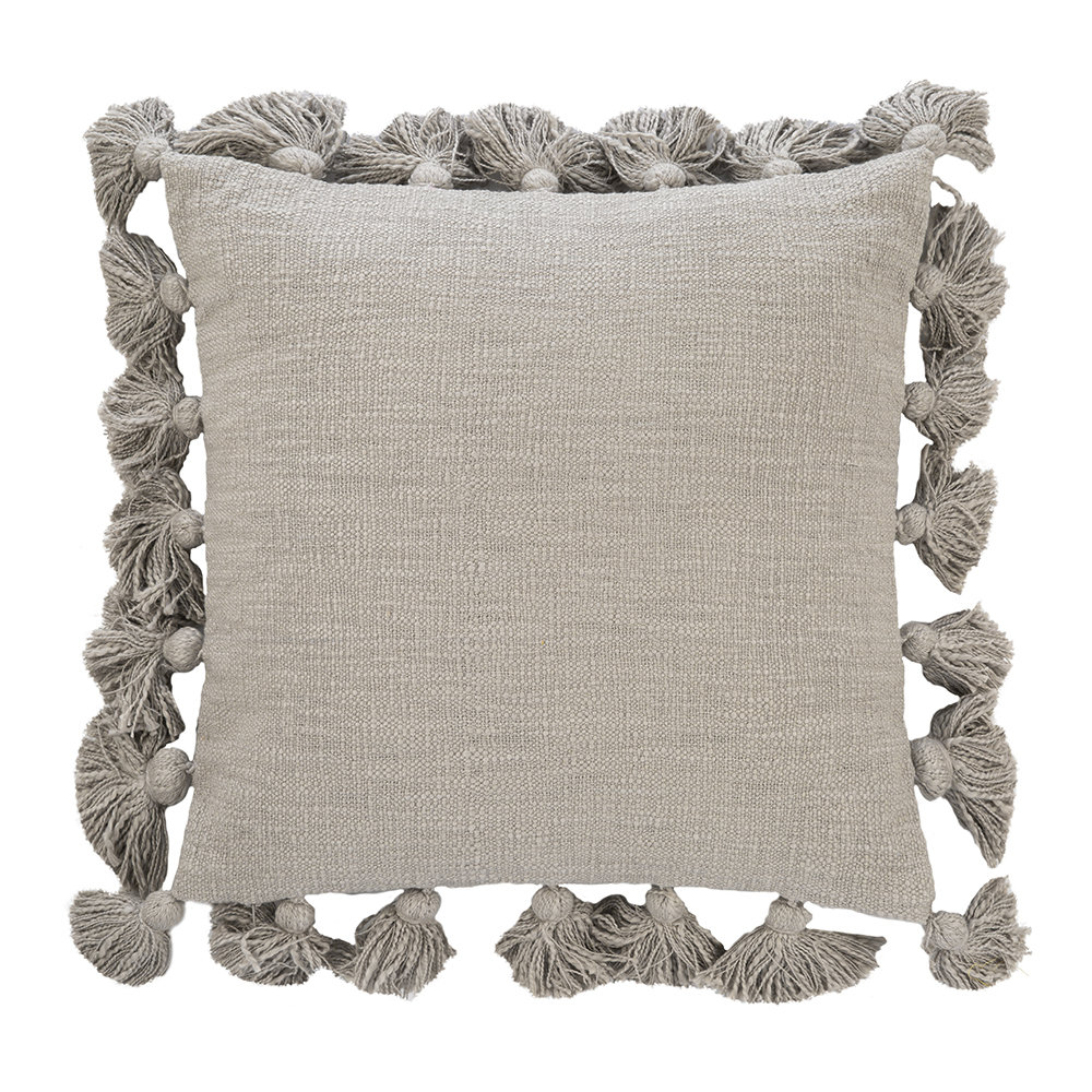 Bloomingville  Chateau Pillow  45x45cm  Gray