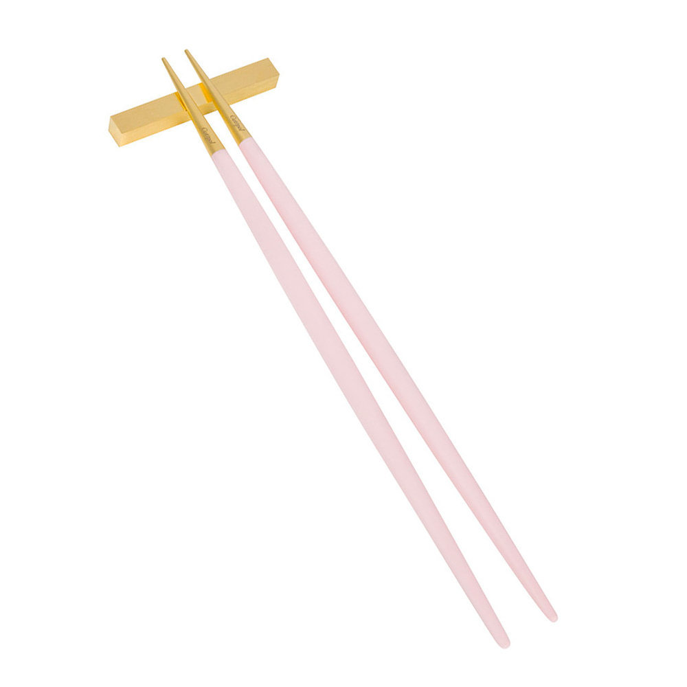 Cutipol - Goa Chopstick Set - Pink/Gold