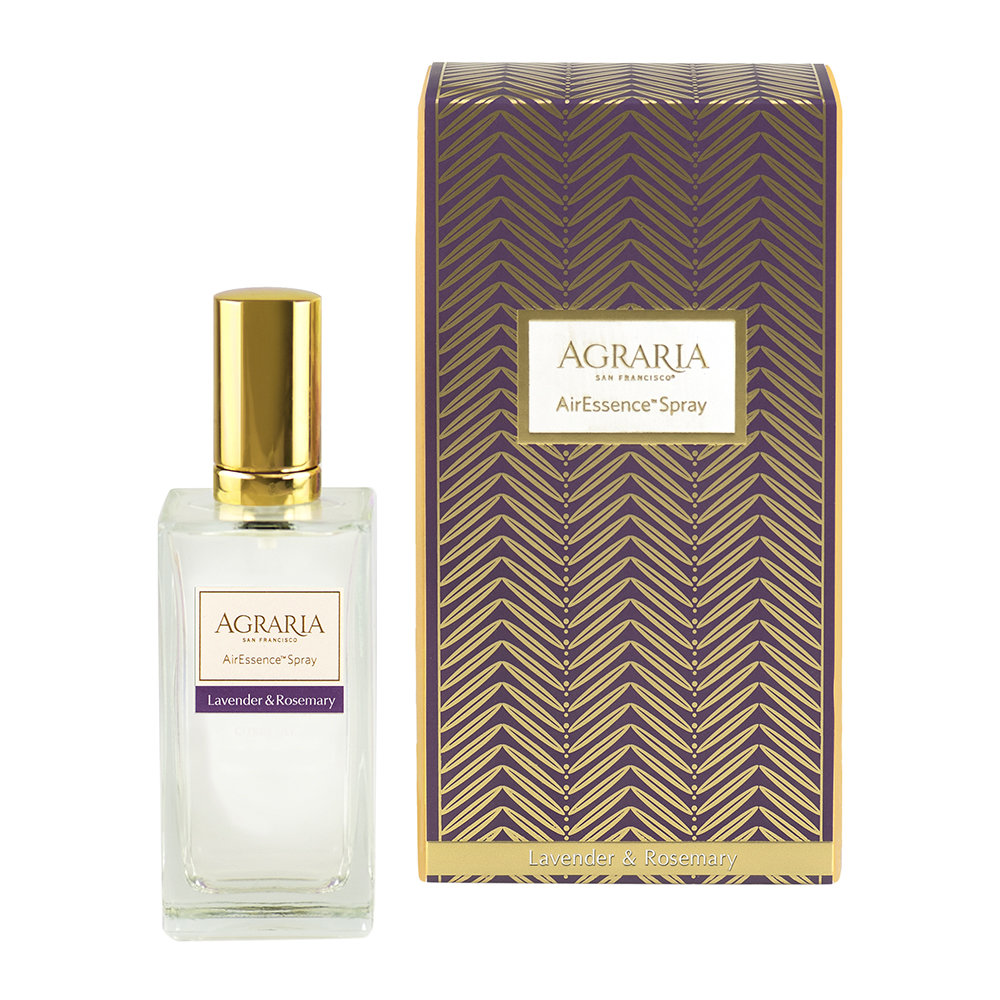 Agraria - Spray d'Ambiance AirEssence - 100 ml - Lavande et Romarin