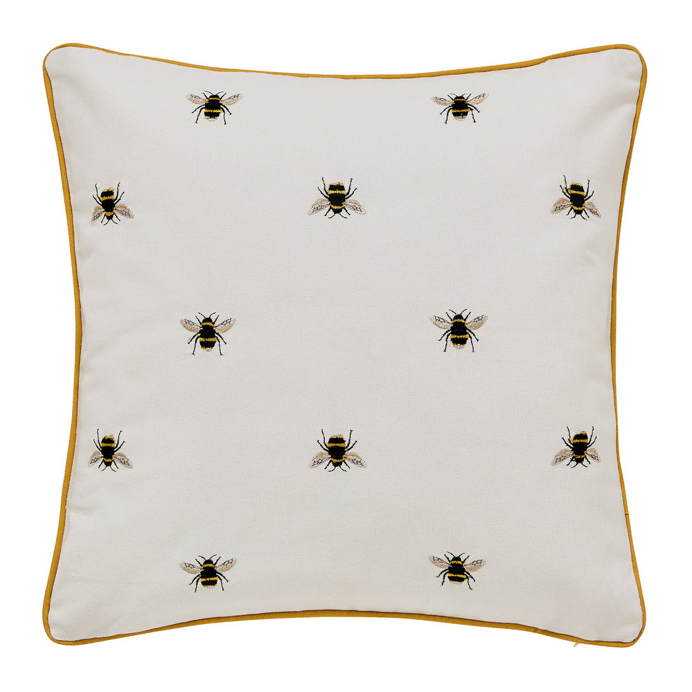 Joules - Chinoise Bee Cushion - 40x40cm