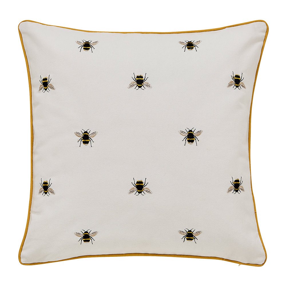 Joules - Chinese Floral Cushion - 40x40cm