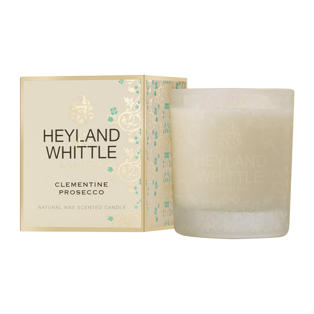 Heyland  Whittle - Gold Classic Scented Candle - 230g - Clementine Proscco