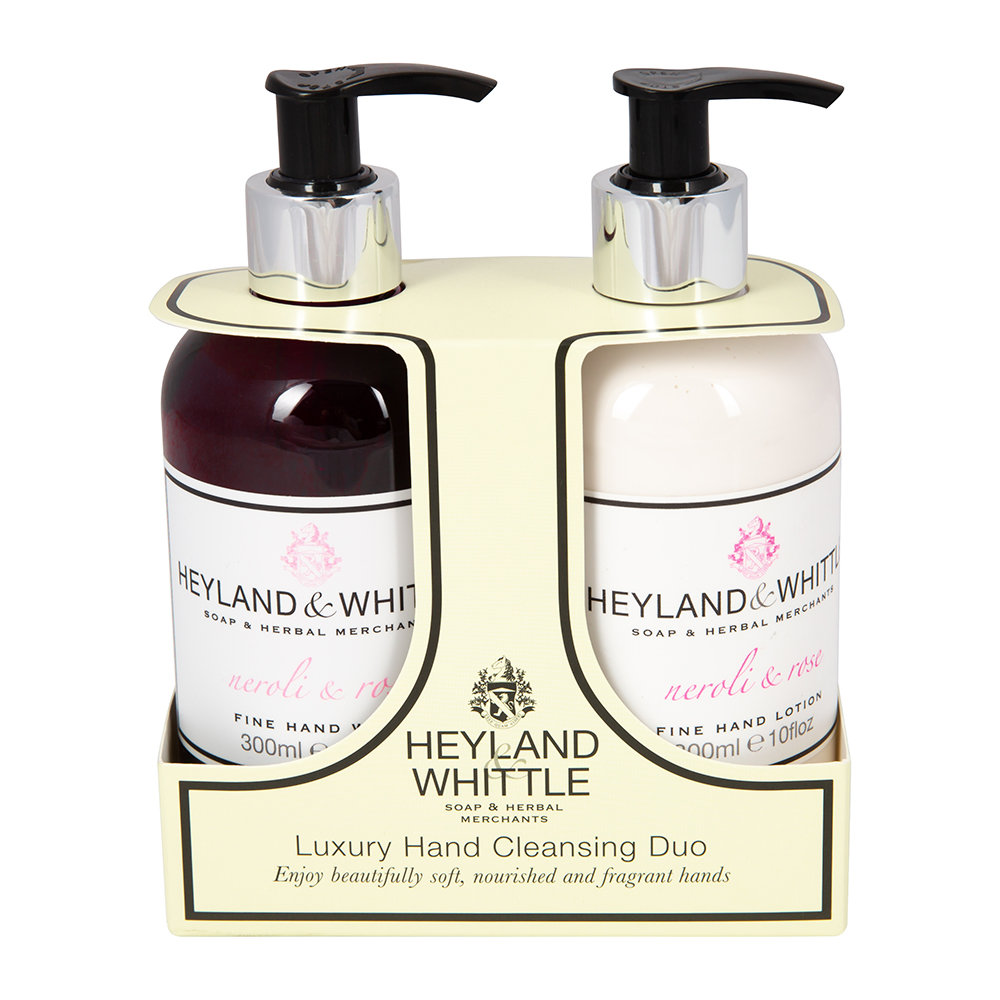 Heyland  Whittle - Neroli  Rose Liquid Soap  Hand Cream Set