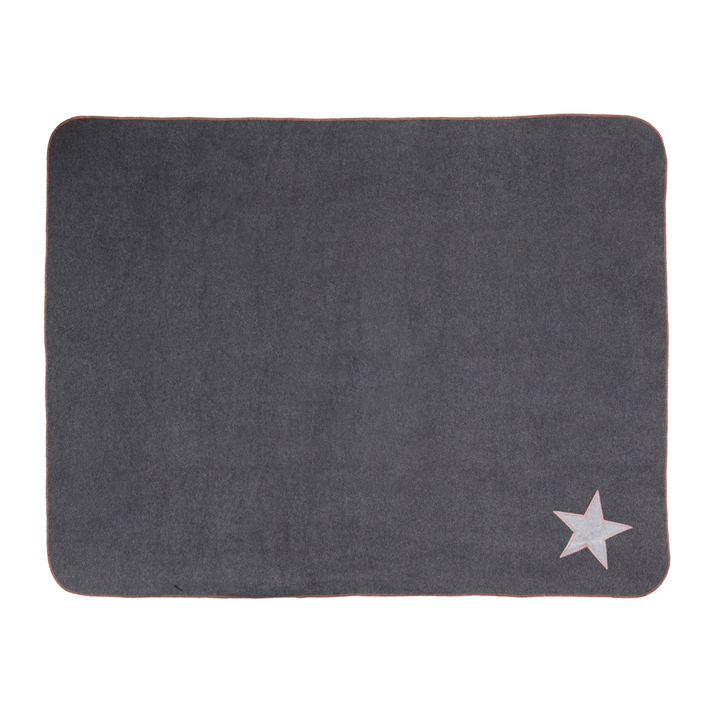 Creature Clothes - Fur Friend Fleecy Blanket - Star - Large