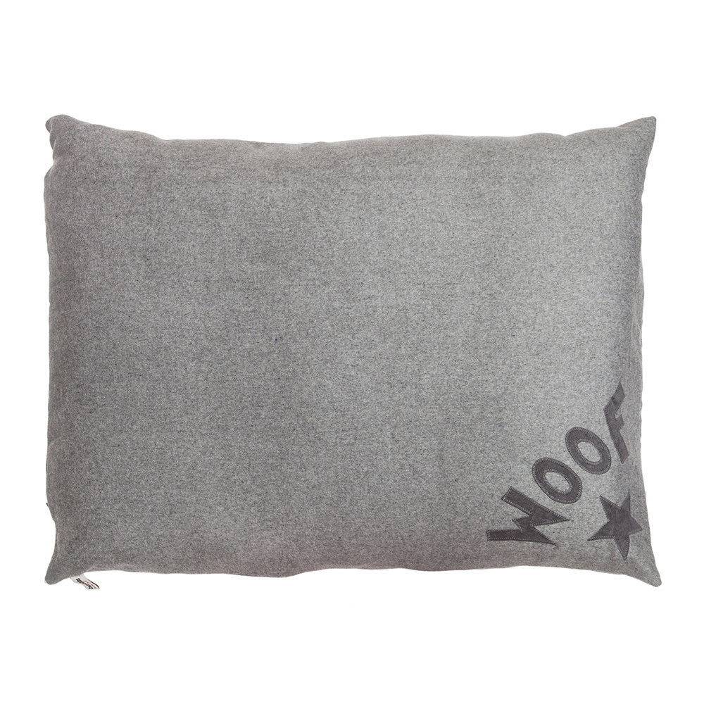 Creature Clothes - Dog Doza Bed - Medium - Soft Grey Woof - Limited Edition