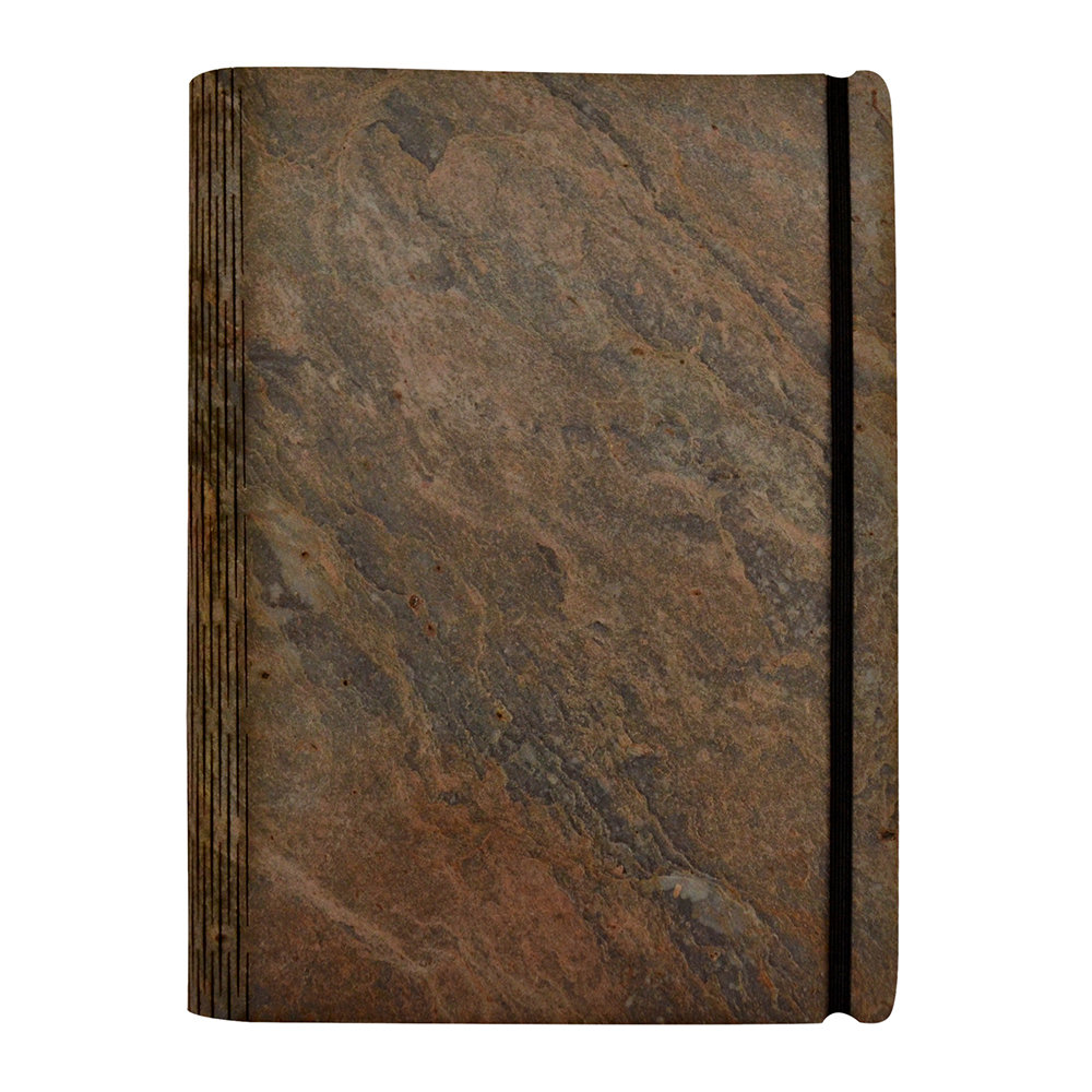 Bark  Rock - Andes Stone Notebook - Pocket - 15.5x19cm