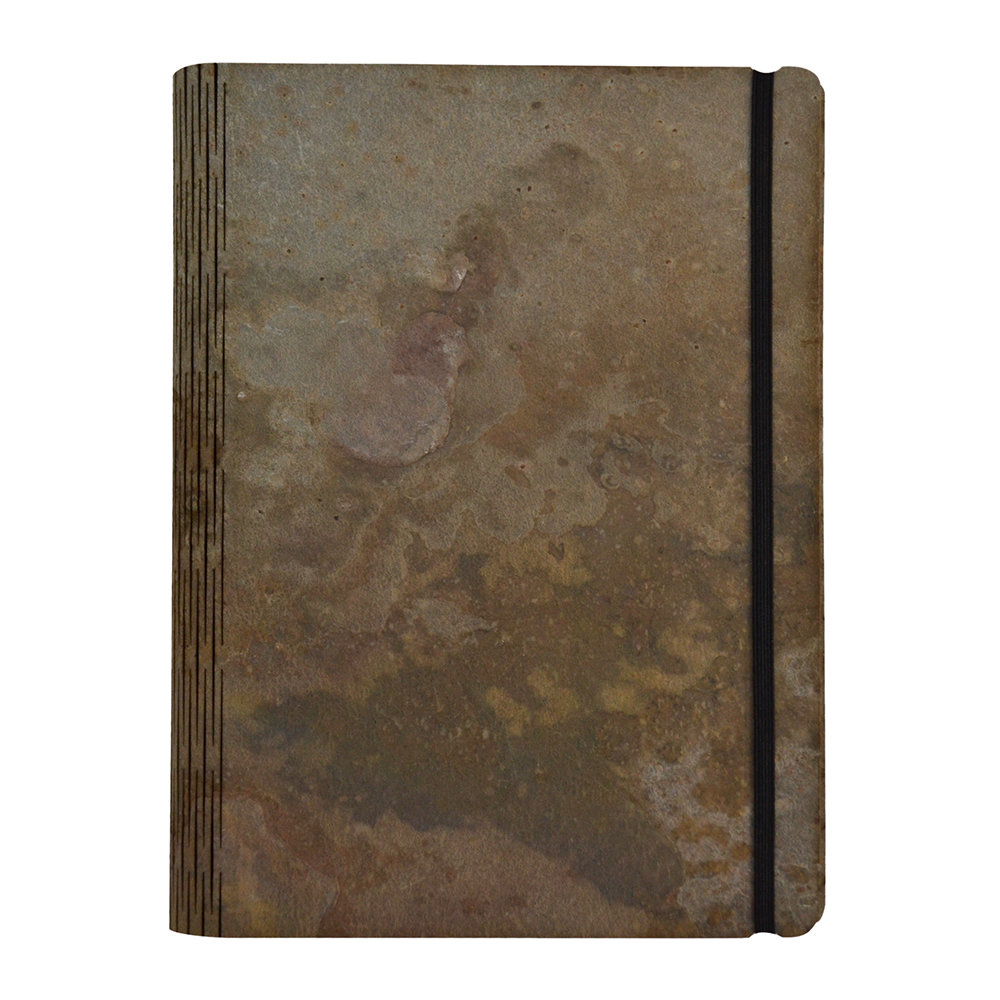 Bark  Rock - Atlas Stone Notebook - B5 - 20x26cm