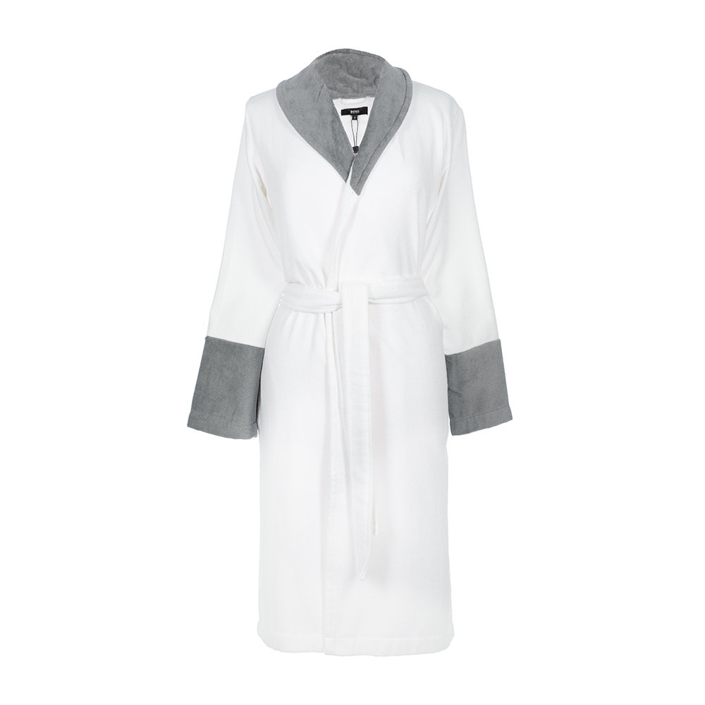 Hugo Boss - Couture Velvet Bathrobe - White