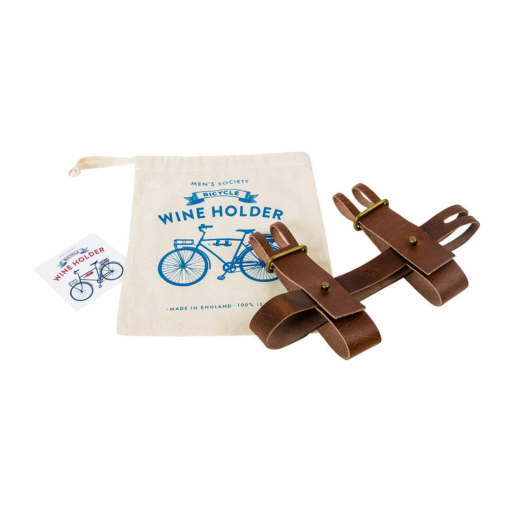Bicyclers Walkers leisure. . All Leather WATER BOTTLE Holster ~ For Work
