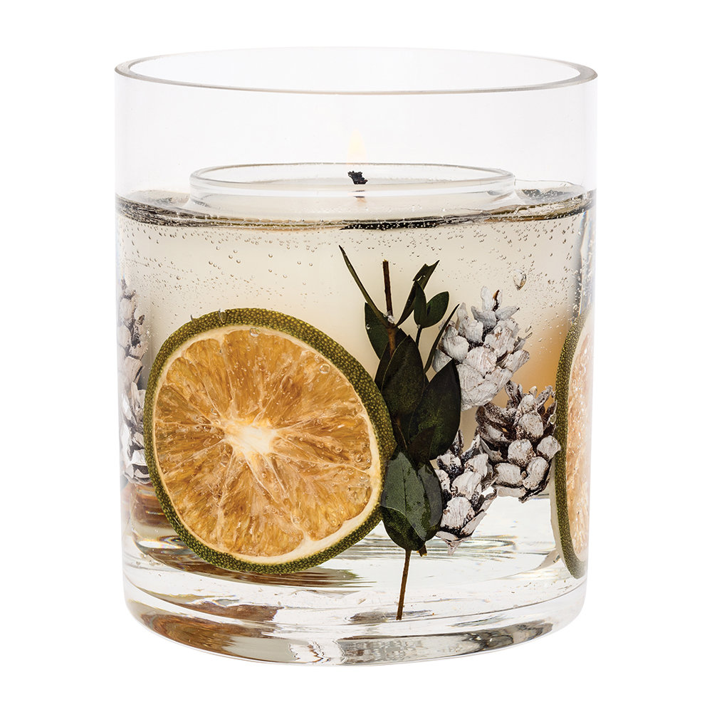 Stoneglow - Eucalyptus  Lime Natural Wax Candle