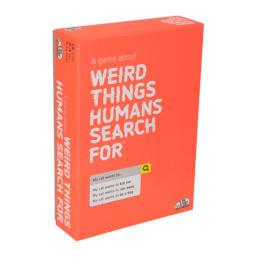 Big Potato Games - Weird Things Humans Search For Game