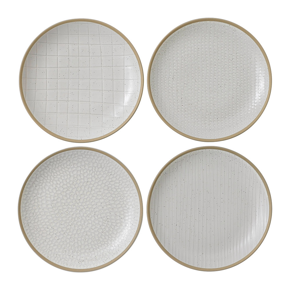 Royal Doulton - Gordon Ramsay Maze Grill Plates - Set of 4 - 22cm