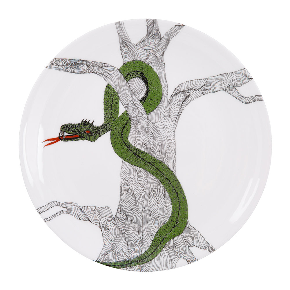 The New English - Serpent Plate - 22cm