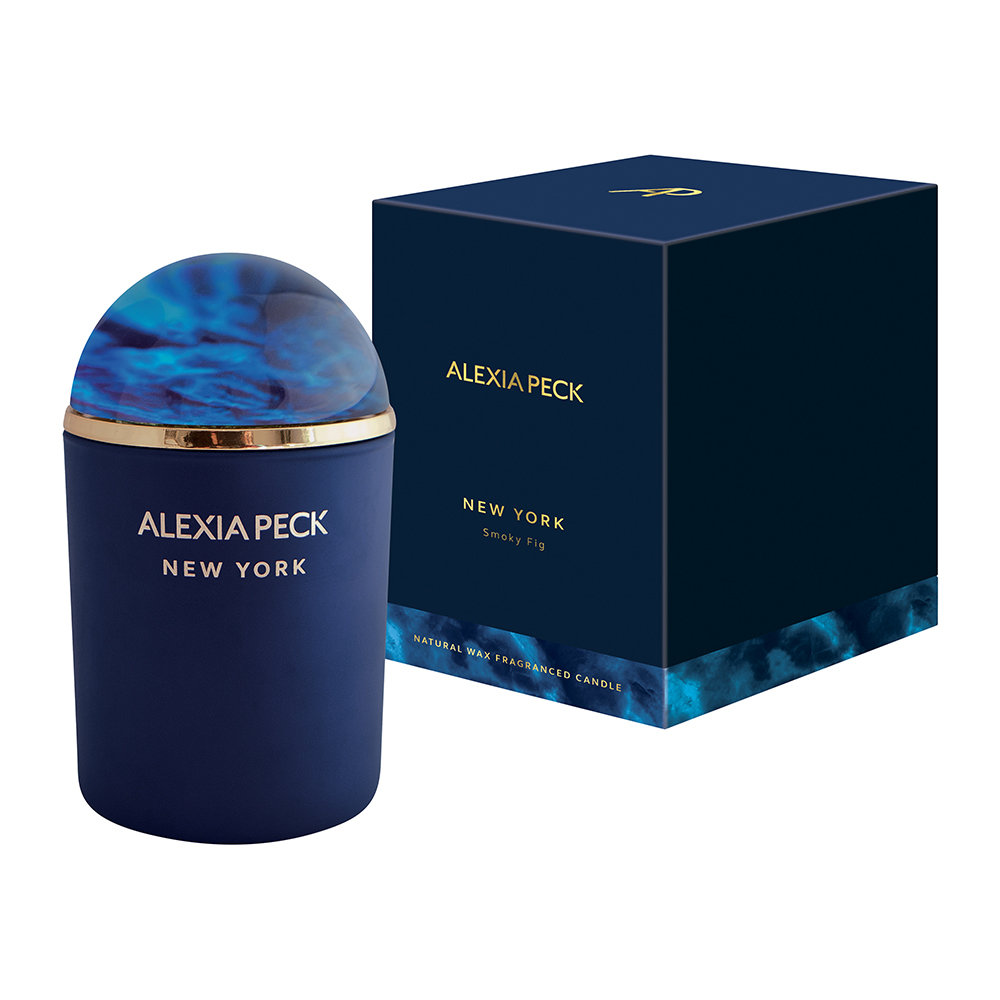 Alexia Peck - New York Candle & Paperweight - Smoky Fig
