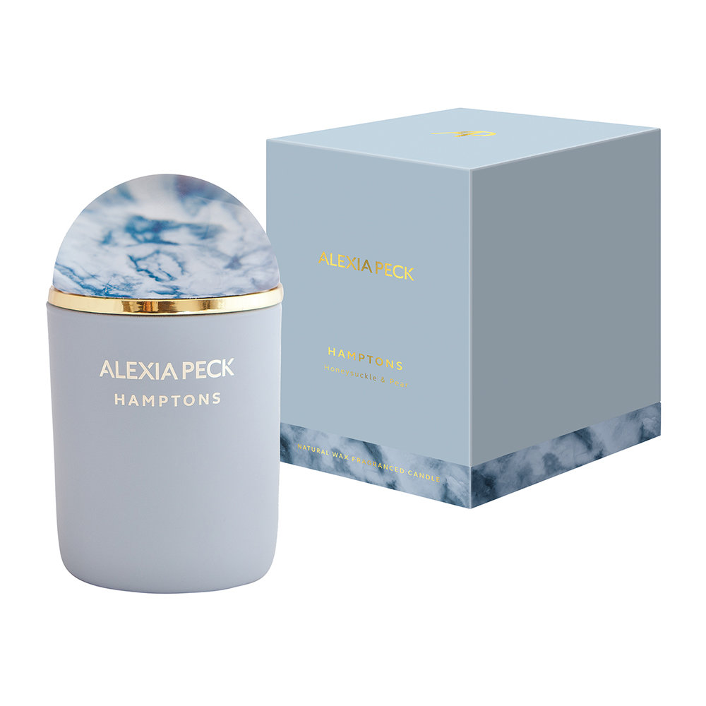 Alexia Peck - Hamptons Candle  Paperweight - Honeysuckle  Pear