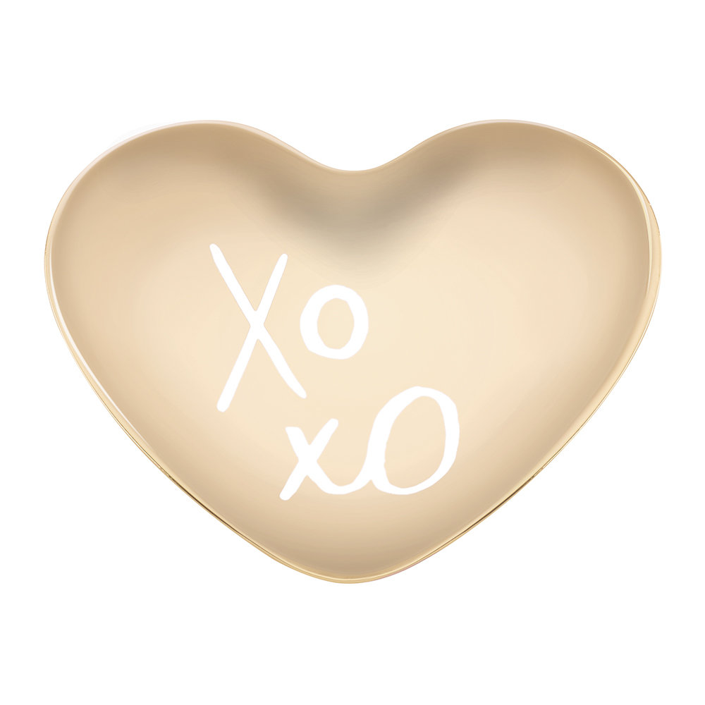 kate spade new york - All That Glistens 'XOXO' Heart Dish