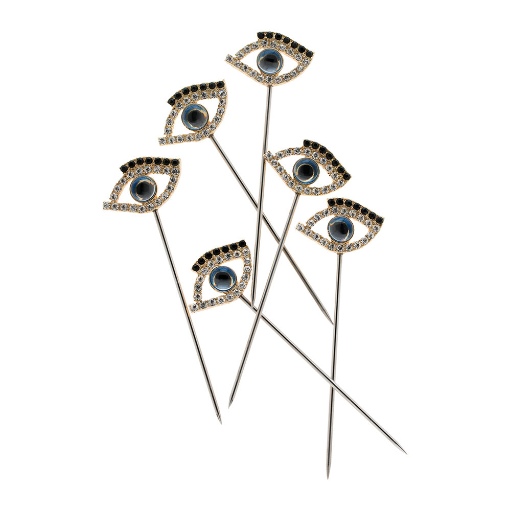 Joanna Buchanan - Evil Eye Cocktail Picks - Set of 6