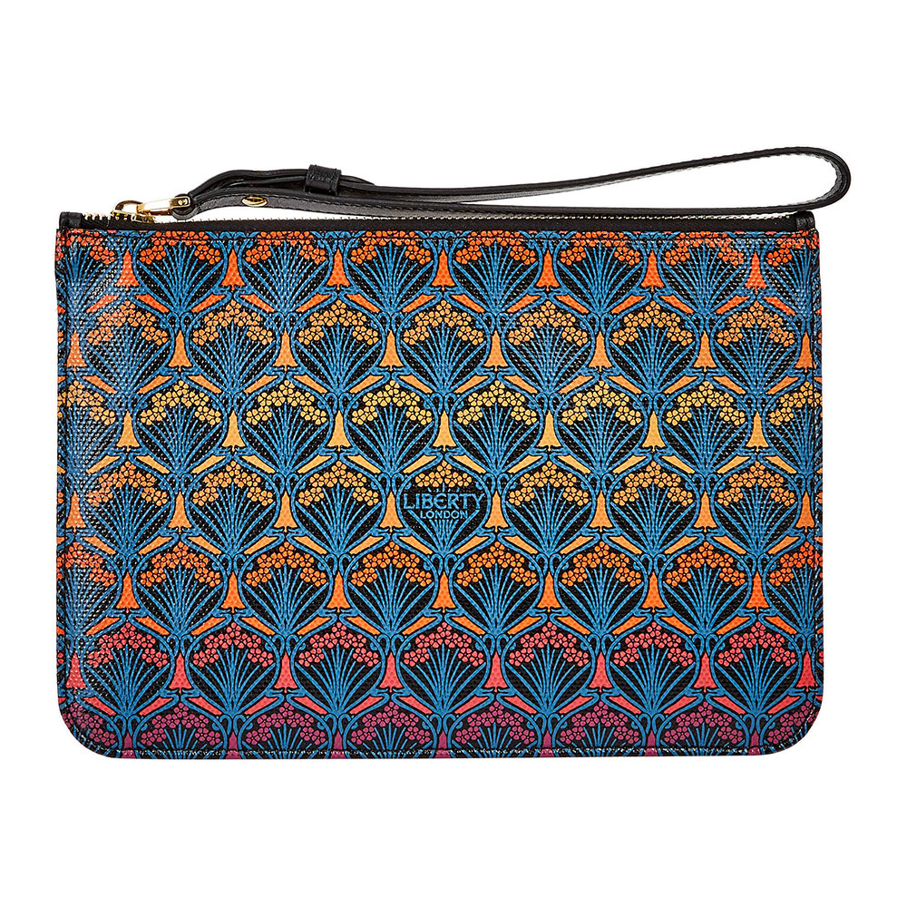Liberty London - Dawn Pouch - Orange