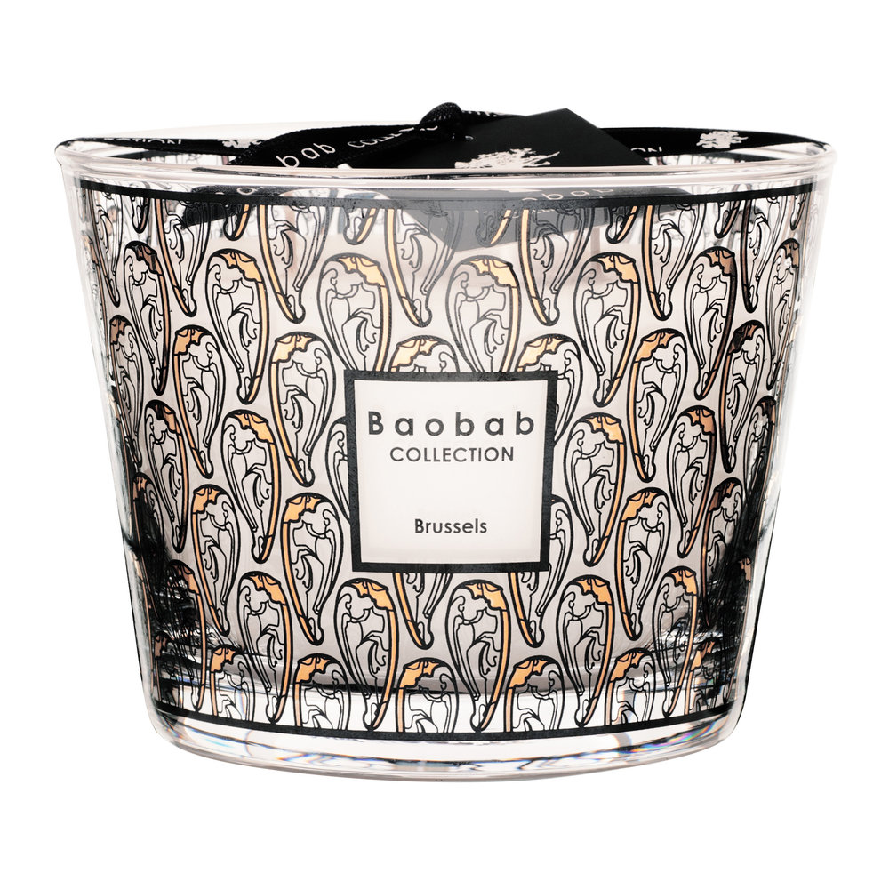 Baobab Collection - Brussels Art Nouveau Scented Candle - Limited Edition - 10cm