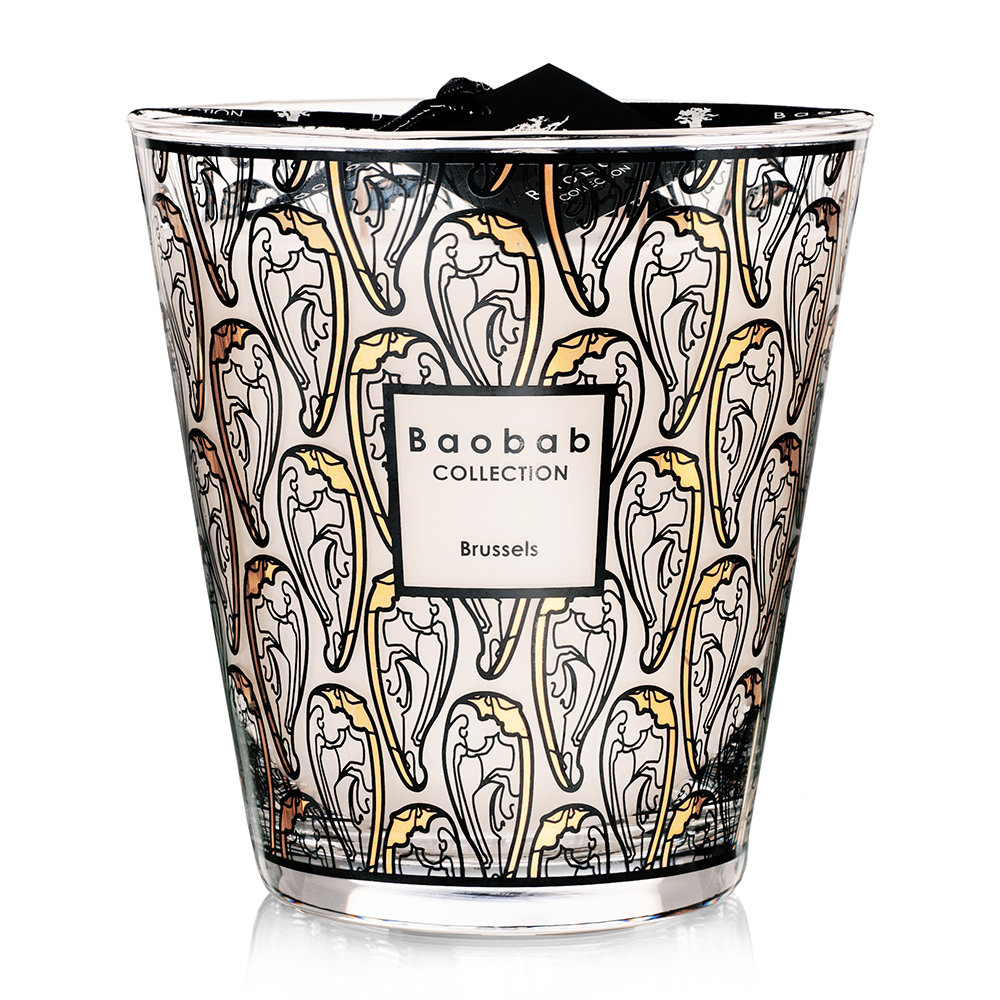 Baobab Collection - Brussels Art Nouveau Scented Candle - Limited Edition - 16cm