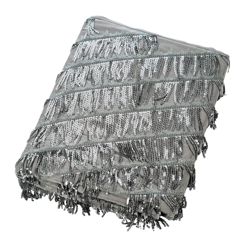 Kylie Minogue at Home - Eliza Bed Runner - Pewter