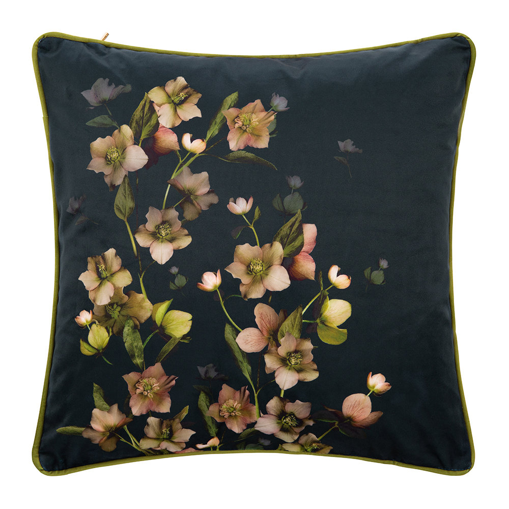 Ted Baker - Arboretum Bed Cushion - Charcoal - 45x45cm