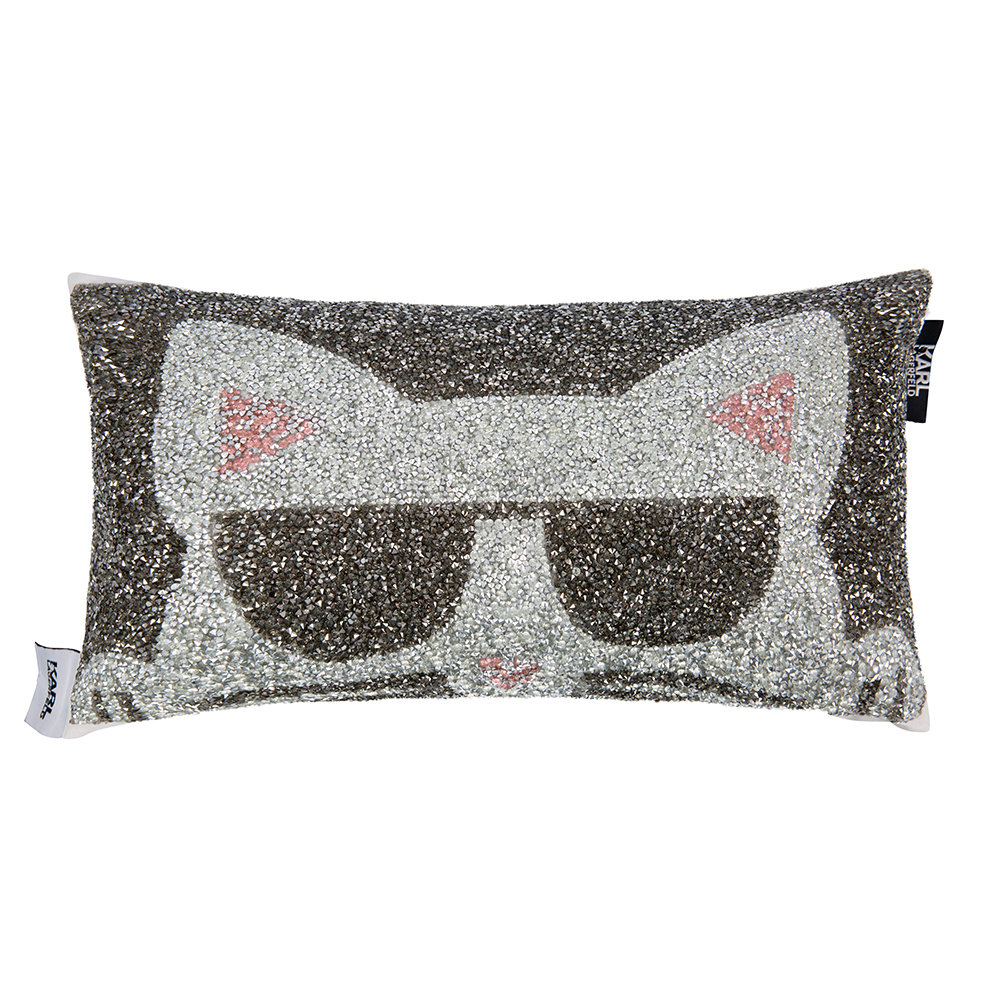 Karl Lagerfeld - Choupette Bed Cushion - 20x35cm - Multi