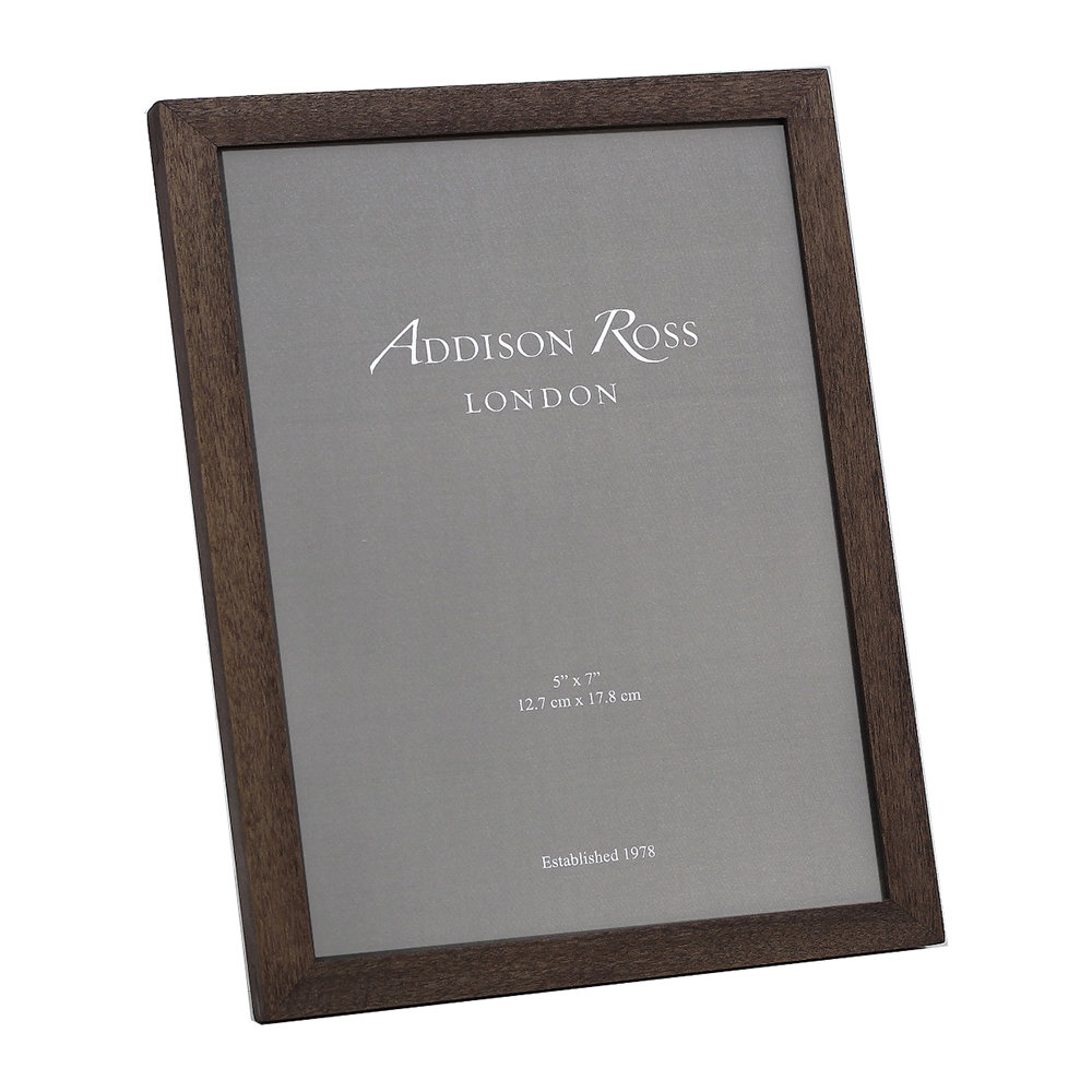 Addison Ross - Alder Photo Frame - Walnut - 8x10""
