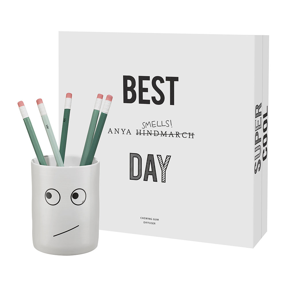 Anya Hindmarch - Anya Smells Chewing Gum Diffuser - 180ml - Fresh Mint and Wild Raspberry