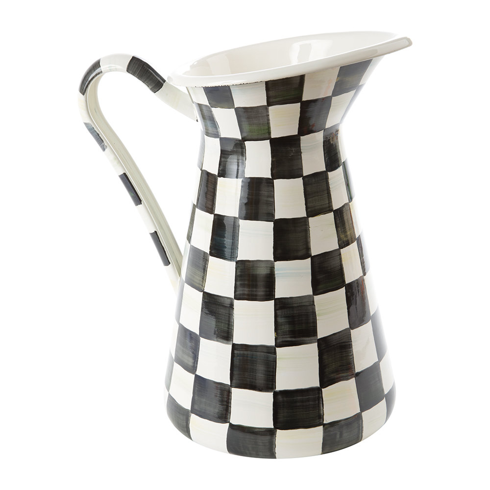 MacKenzie-Childs - Courtly Check Practical Pitcher - Large