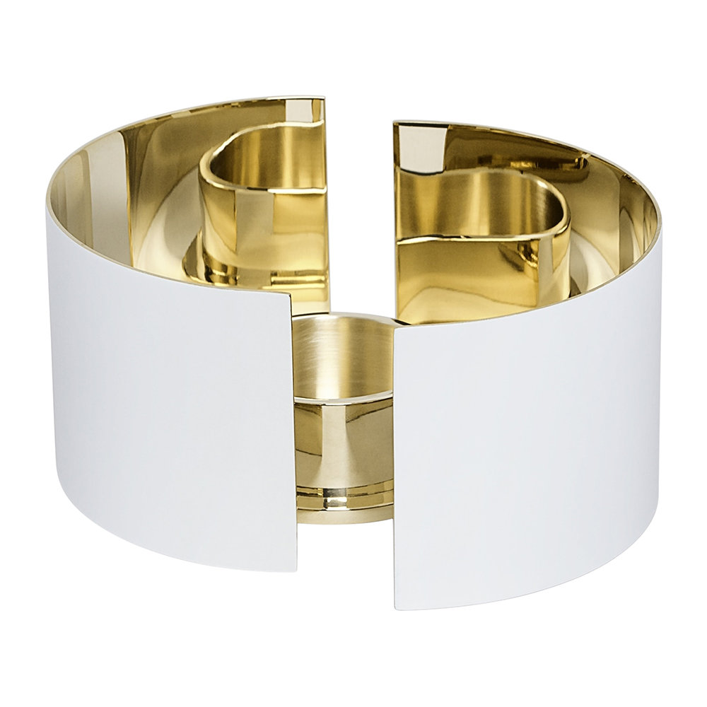 Skultuna - Infinity Candle Holder - White - Small