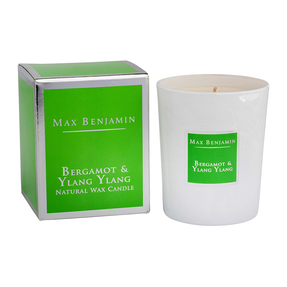 Max Benjamin - Classic Collection Scented Candle - 190g - Bergamot & Ylang Ylang